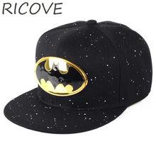 Batman Superman niños gorras de béisbol niños verano Snapback sombrero para  niños Cartoon Sun sombreros Hip Hop gorra de béisbol. fb54e7442d1