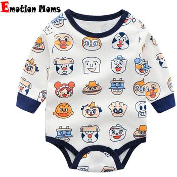 Emotion Moms Newborn Baby Clothes Babyworks Baby Romper Infant Boys /Girls Jumpsuits Clothing Cartoon For Baby Newborn emotion moms autumn newborn clothing fashion cotton infant underwear baby boys girls suits set clothes for 0 3m 20pcs set