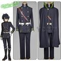 Серафим конца Owari нет Serafu Yuichiro Hyakuya форма косплей костюм