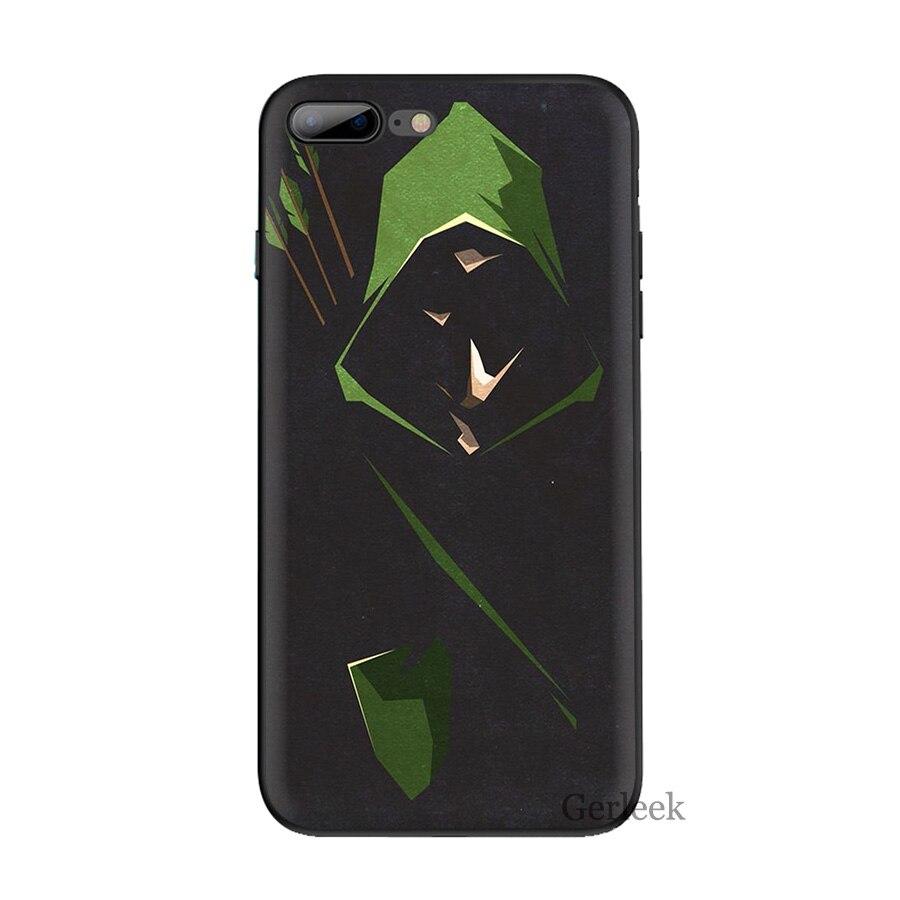 coque iphone 6s green arrow