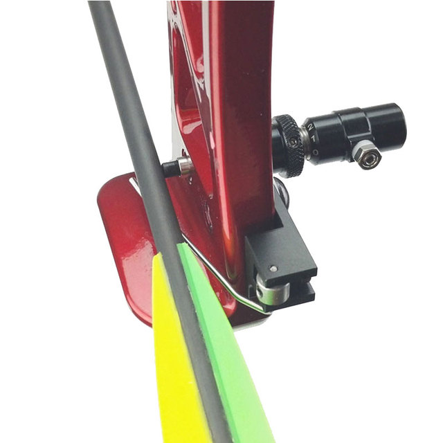 1Set Archery Arrow Rest Cushion Plunger Magnesium Alloy Adjustable Right Hand Recurve Bow Hunting Accessory