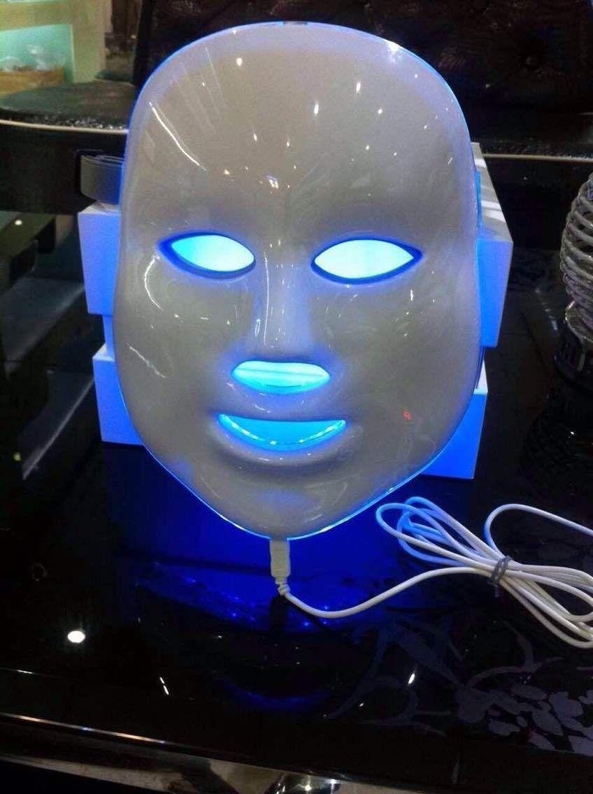 Free shipping LED Photon Facial Mask Skin Rejuvenation LED Light Therapy Photodynamics PDT anti acne pigment removal photon led light therapy facial beauty salon skin care treatment massager machine