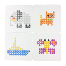 DIY Water Spray Magic Aqua Beads Hand Making 3D 5mm Aquabeads Puzzle Educational Toys for Children Kit Ball Game