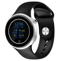 Круглый экран смартфона часы профессиональный спорт водонепроницаемый сердечный ритм здоровья Bluetooth сведения о вызове толчок музыка брасл