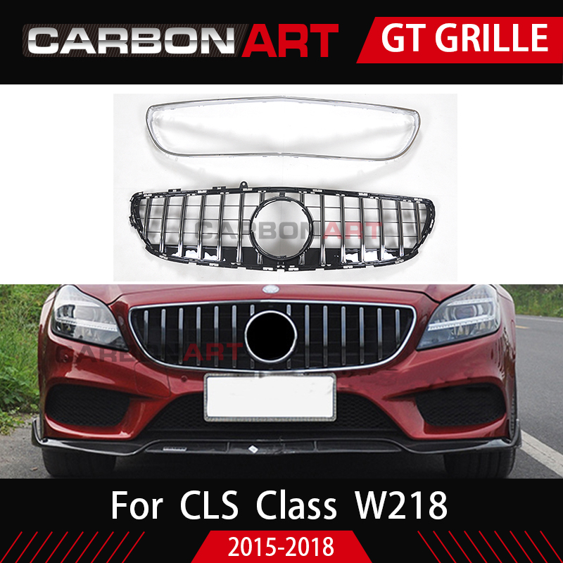 GT Grill For Mercedes Benz CLS Class W218 Facelift Sedan Auto Front Grille 2015 2018 CLS300
