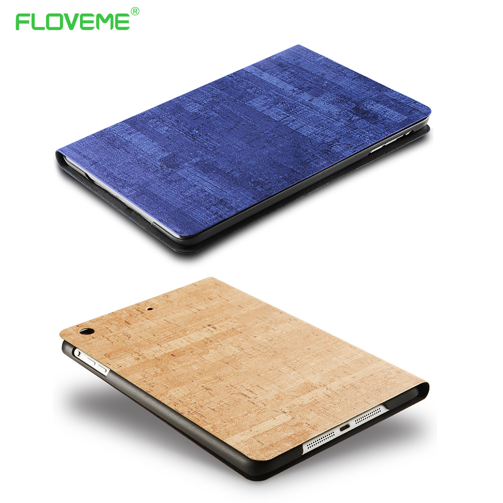 FLOVEME Rock Stone Pattern Cover For iPad Air Casual Smart Sleep Tablet Protector For iPad Air 1 2 Ultra Slim Leather Flip Case
