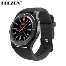 FREZEN G8 Smartwatch Bluetooth 4.0 SIM Call Message Reminder Heart Rate Monitor Smart Watchs For Android IOS