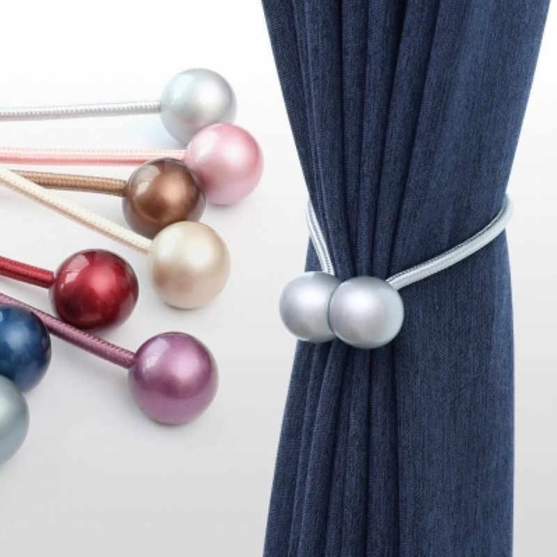 Vorhang Riemen Binden Seil Spitze Dekorative Magnet Kreative Vorhang Schnalle Vorhang Seil Strap Dusche Vorhang Zubehör 1 PCS