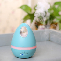 Creative Colorful Egg Air Humidifier Ultrasonic LED Night Essential Oil Diffuser Exquisite Aroma Mist Maker Fogger
