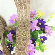 Tassel-Trim for 5-Meters Long Lowest-Price Weaved Eco-Friendly Fancy 100%Jute