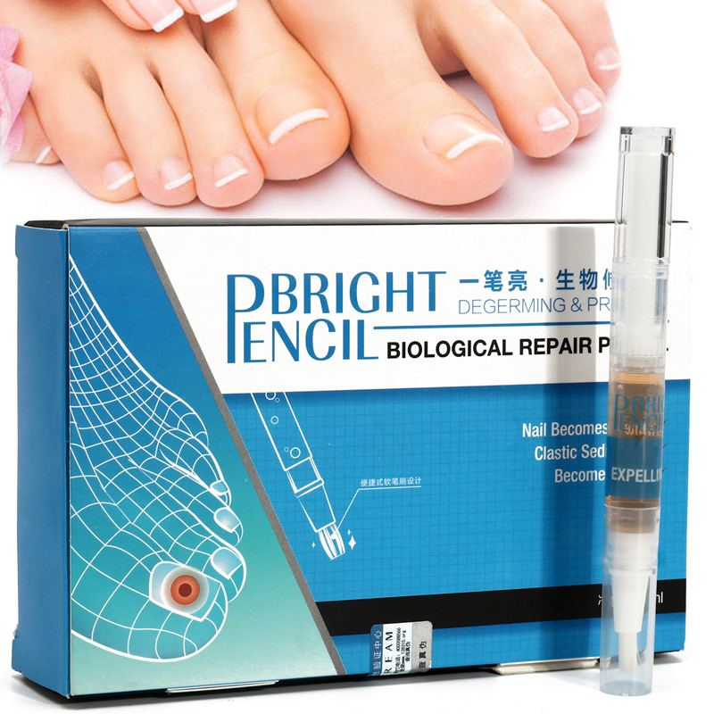 Us 3 78 24 Off Solution Anti Fongique Infection Nail Bright Pencil Fungal Treatment Anti Fungus Biological Repair 3ml Restores Healthy Nail In Nail