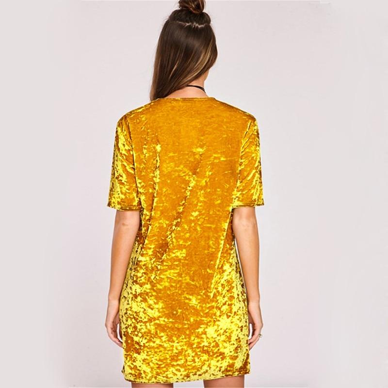 Spring Summer velvet dress women short-sleeved HTB1rJCslmYH8KJjSspdq6ARgVXa3