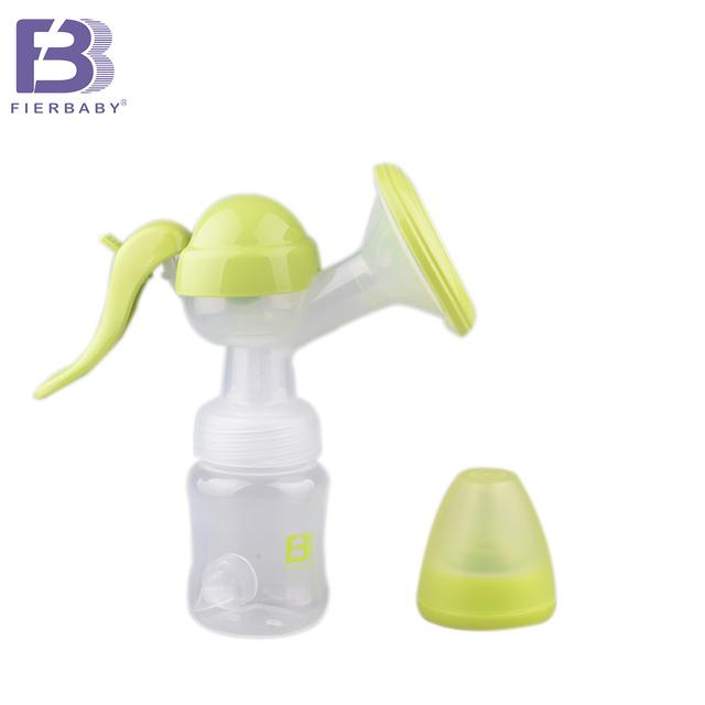 Fierbaby nuevo extractor de leche manual de salud conveniente y suave fresco Sin batería lactancia Alimentación Infantil