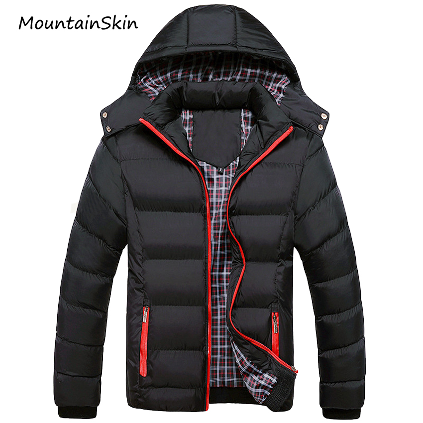 Mountainskin 5XL 2017 Men Winter Jacket Warm Male Coats Fashion Thick Thermal Men Parkas Casual Men Branded Clothing LA140(China)