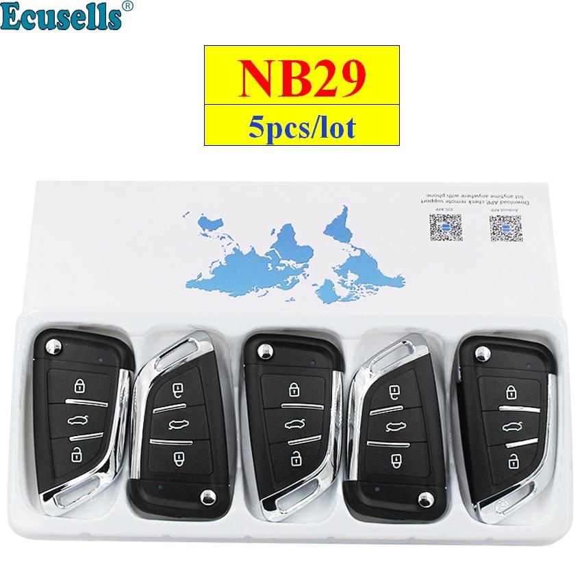 5pcs lot KEYDIY 3 Button Multi functional Remote Control NB29 NB Series Universal for KD900 URG200