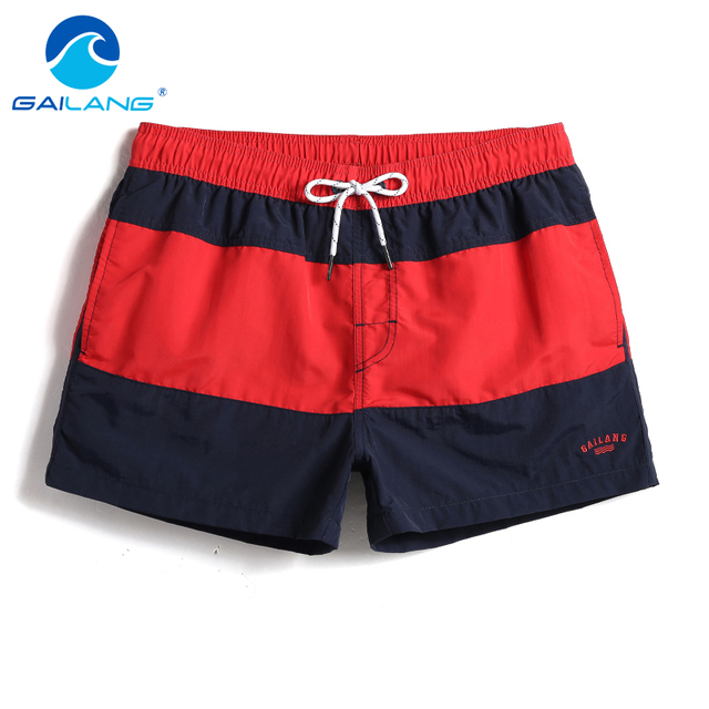Gailang Brand Summer Men Beach Shorts Quick Dry Mens Board Shorts Beachwear Plus Size Casual Boxer Trunks Shorts Gay Fashion