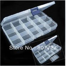 1x15 слотов регулируемый инструмент для ювелирных изделий пластиковая