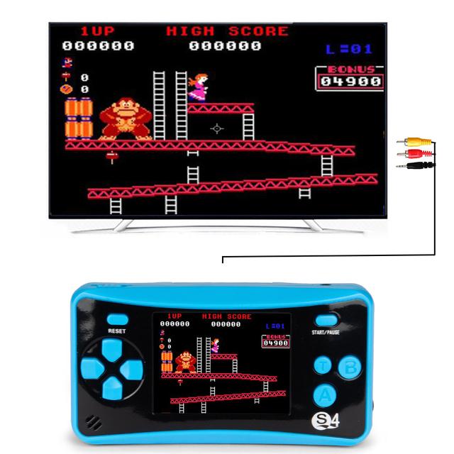 Consola de Juegos de 8 Bits Portátil