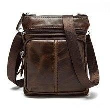 Высококачественные мужские сумки из натуральной кожи, мужские сумки, повседневная сумка-мессенджер, мужская сумка на плечо из натуральной кожи