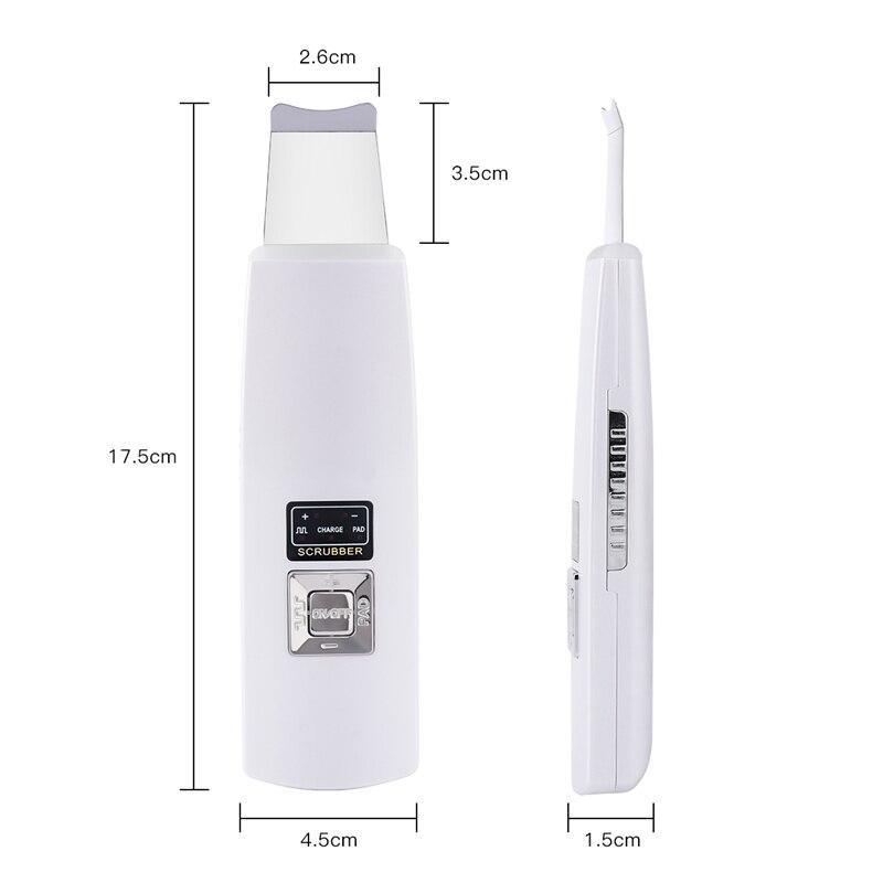 Ultrasonic skin scrubber 5