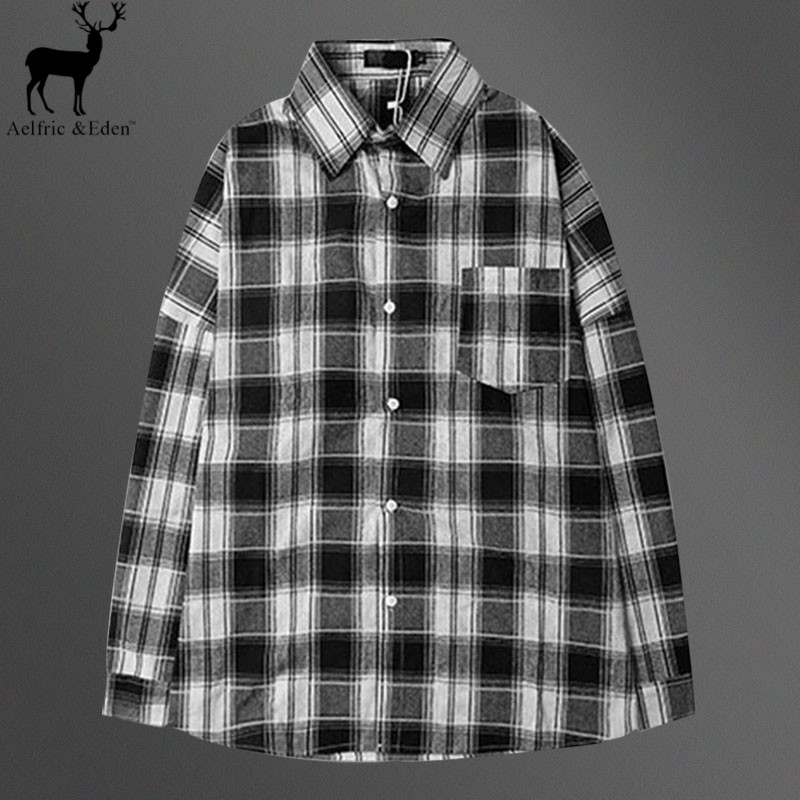 Online Get Cheap Black White Plaid Men Shirt -Aliexpress.com ...