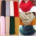 Pérdida! invierno jersey macho hembra bufanda mohair bufanda caliente de punto de ganchillo SC0330 sólida bufanda de invierno