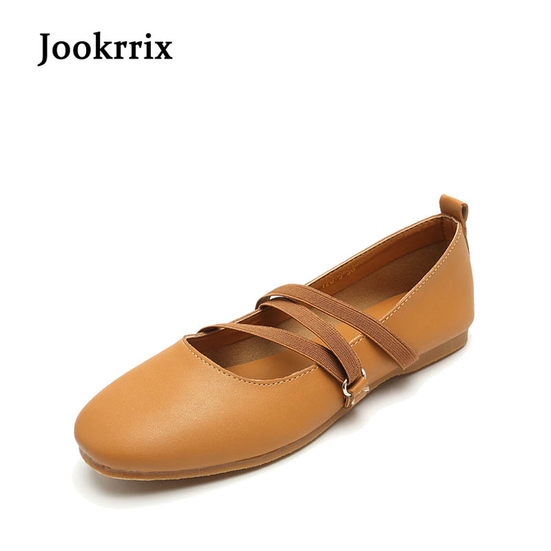 Jookrrix 2017 New Autumn Women Round Toe Flat Brown Lady Fashion Mary Jane Shoes Toe Shallow  Daily Soft Sole All-match Black e hot sale wholesale 2015 new women fashion leopard flat shallow mouth shoes lady round toe shoes