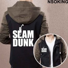 2017 New Spring Autumn SLAM DUNK Hoodie Fashion Anime Cool Coat Men zipper Jacket