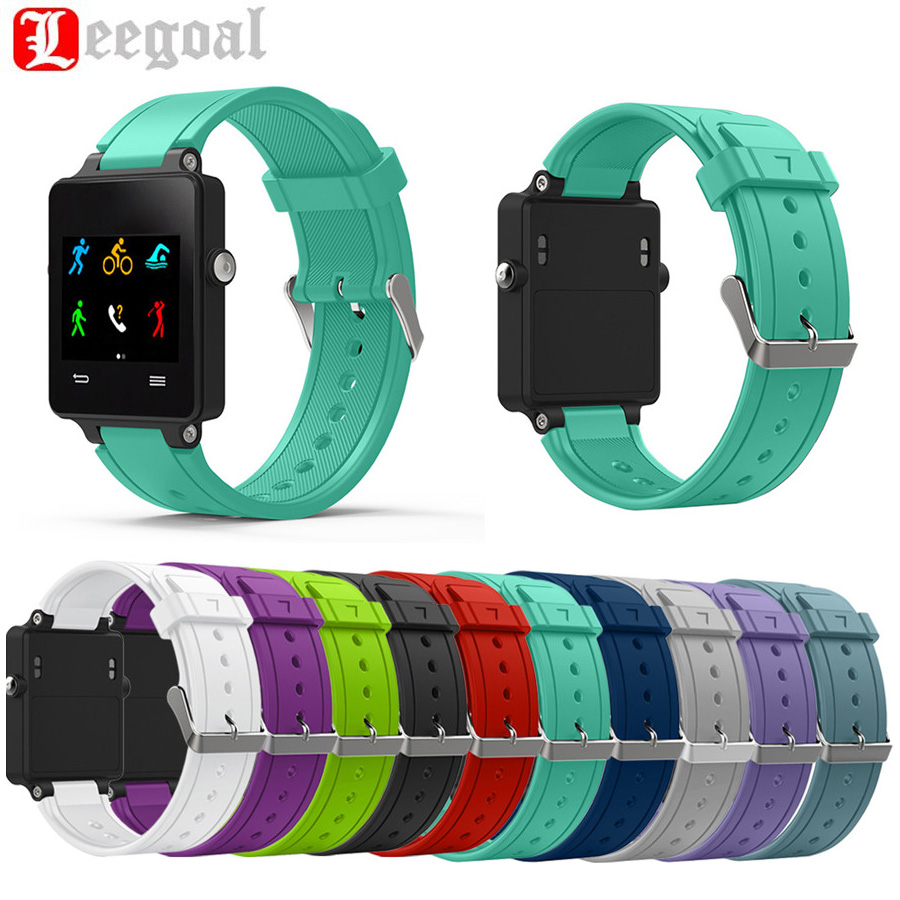 Superior Quality Replacement Wristband Silicone Bracelet Strap Watch Band For Garmin Vivoactive Acetate Sport Watch Watchbands