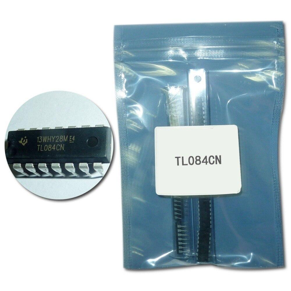 50PCS TL084 TL084CN DIP-14 QUAD JFET INPUT OP AMP IC