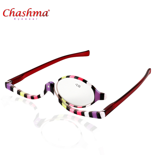 NEW Designer Maquiagem Óculos de Leitura Folding Magro Moda Óculos Oculos  de grau óculos de Maquiagem 38071c70c2