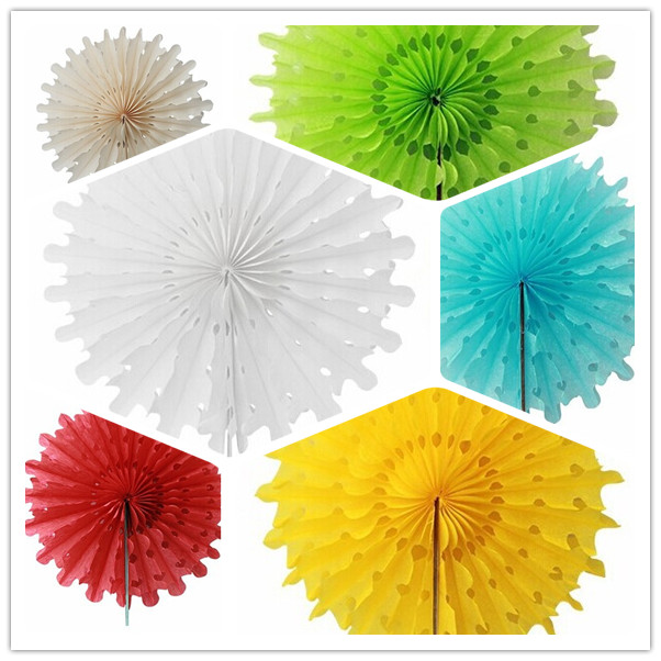 30pcs 12cm tissue paper snowflake fans handmade decorative hanging 30pcs 12cm tissue paper snowflake fans handmade decorative hanging flowers paper fans wedding party decoration hanging crafts in party diy decorations from mightylinksfo