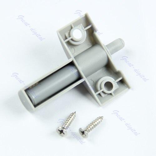 10Set/Lot Gray Kitchen Cabinet Door Drawer Soft Quiet Close Closer Damper Buffers + Screws -PY-PY