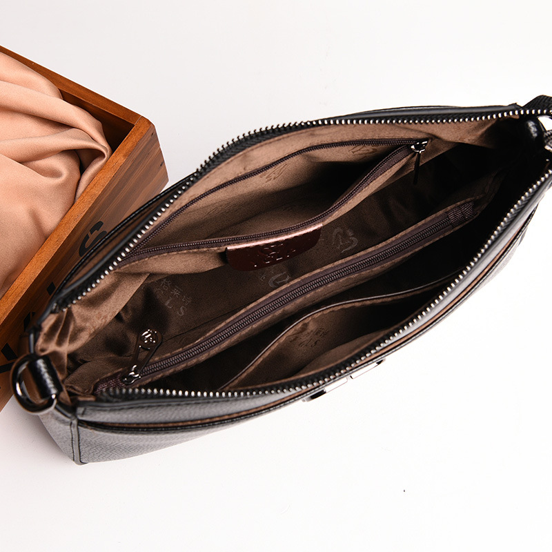 Image 5 - 2019 New Fashion Soft Leather Elegant Women Bags Handbags Genuine  Leather Small Fashion Crossbody Bags for Women Shoulder BagShoulder  Bags
