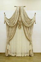 Velvet curtain valance window curtains Custom blind Ready screens pannel cortinas Beaded curtains1834