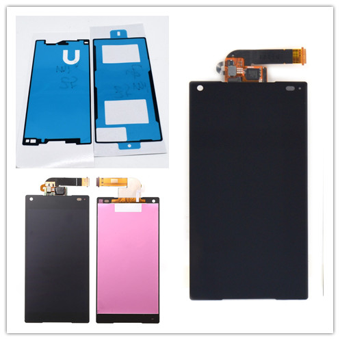 "JIEYER 4.6"" inch Black LCD display touch screen digitizer full Assembly repair parts For Sony Xperia Z5 Compact mini E5803 E5823"
