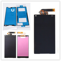 JIEYER 4 6 Inch Black LCD Display Touch Screen Digitizer Full Assembly Repair Parts For Sony