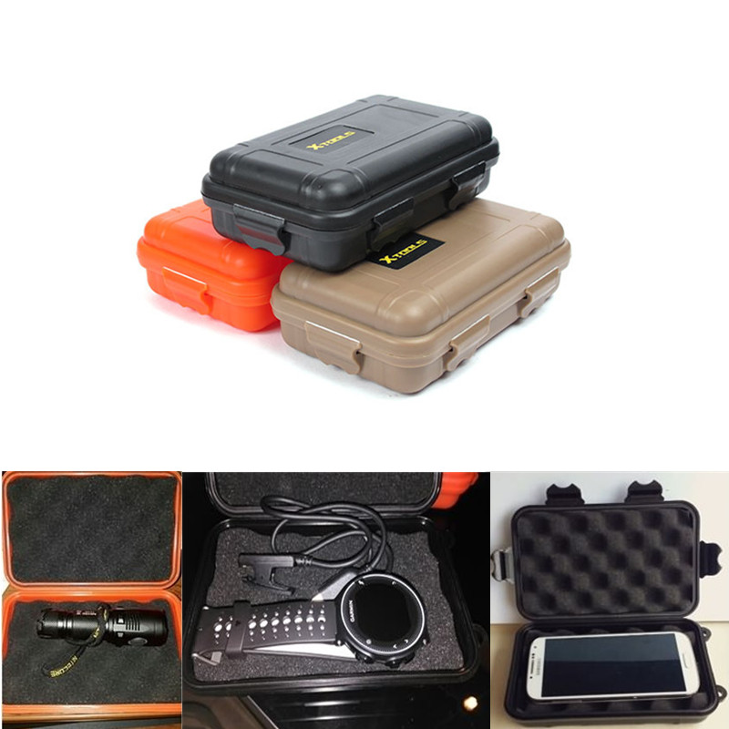 1PC Waterproof Sealed Floating Boxes Case For Phone EDC Outdoor Travel Tools Plastic Shockprof Storage Airtight Case