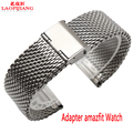 Liaopijiang Novo relógio com movimento amazfit inteligente para substituir a correia de aço inoxidável de Milão agradável