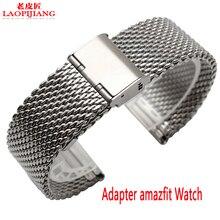 Liaopijiang Nuevo reloj con movimiento amazfit inteligente para sustituir la correa de acero inoxidable de Milan agradable