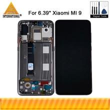 """6,39 """"Оригинальный Super Amoled для Xiaomi MI9 MI 9 ЖК дисплей экран + сенсорная панель дигитайзер для Mi 9 Explorer Mi9 ЖК рамка"""