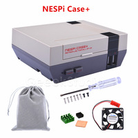 New In Stock NESPI CASE Plus With Cooling Fan Heatsinks And Flannel Bag Designed For Raspberry