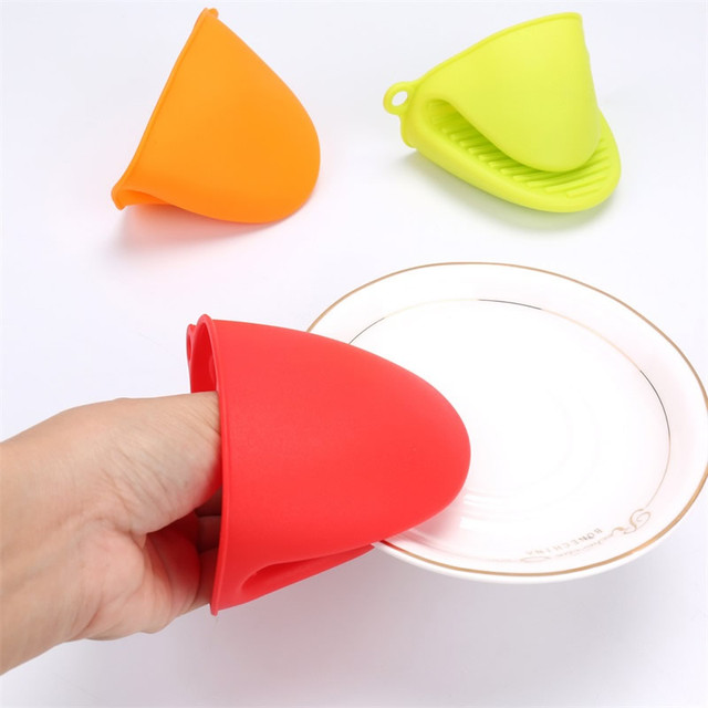 Colorful Silicone Heat Resistant Gloves