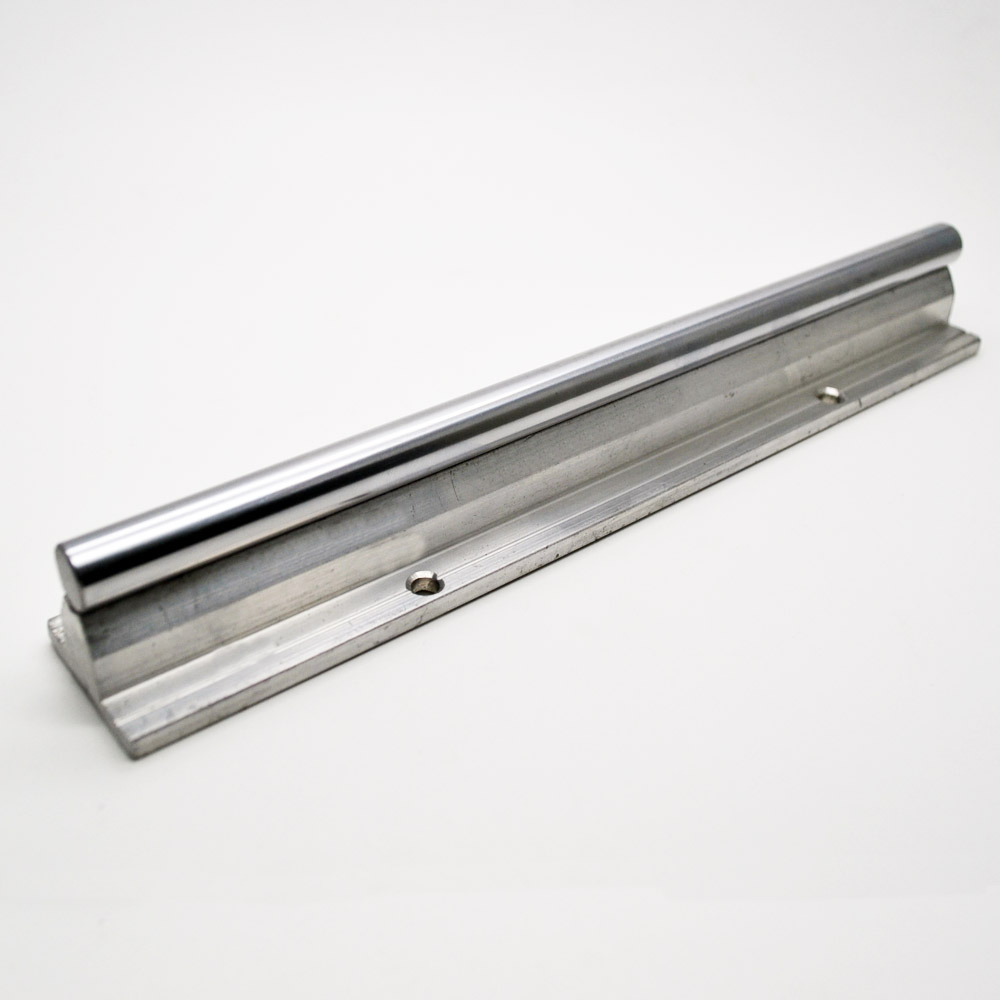 1pcs Linear Motion guide supported rail SBR16- L200mm chrome plated quenching hard guide shaft for CNC can be cut any length 1pc sbr20 linear guide rail length 300mm chrome plated quenching hard guide shaft for cnc
