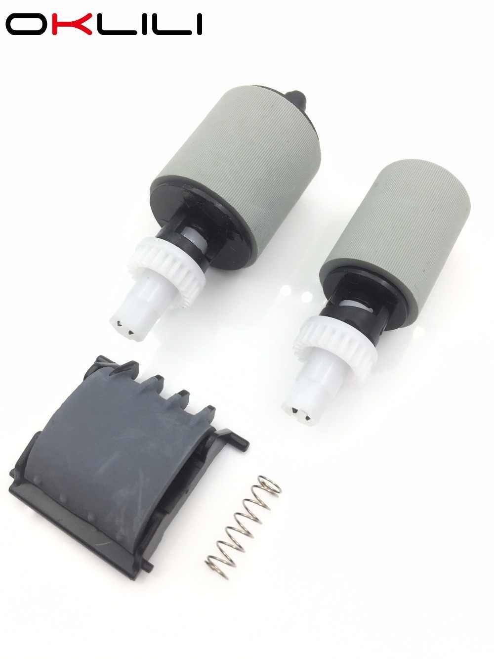 CF288-60016 CF288-60015 A8P79-65001 ADF Pakan Pickup Roller Pemisahan Pad Kit untuk HP Pro 400 M401 M425 M525 M521 M476 M570 M521