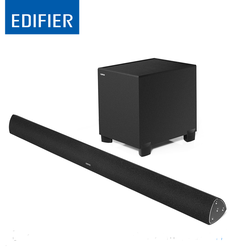 Edifier CineSound B7 Media Speaker for TV and Living Rooms with Bluetooth,optical and AUX input original edifier cinesound b7 media speaker for tv and living rooms with bluetooth optical and aux input wireless speaker