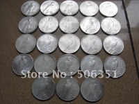 wholesale Peace Dollar 23 coins set COPY 100% coper manufacturing