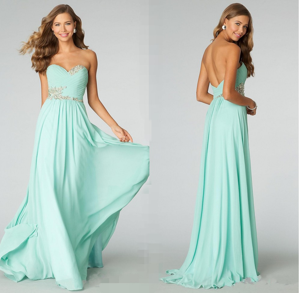 Popular Mint Green Dresses-Buy Cheap Mint Green Dresses lots from ...