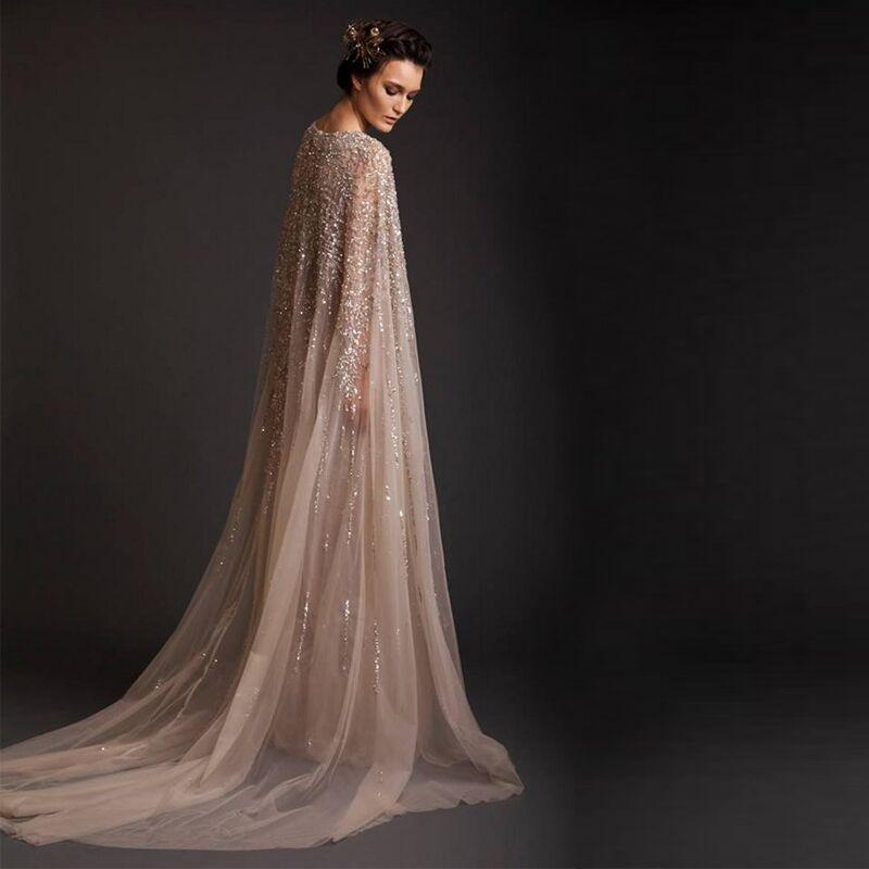 Women 2016 new Lebanon Custom Prom Crystal Saudi Arabia Long Arab Evening  Dresses Sleeved Abaya Dress Dubai Kaftan Marocain A-in Evening Dresses from  ... c60c343dbf9f