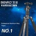 Benro a1682tb0 tripé para canon nikon slr câmera digital tripé profissional suporte de fotografia liga de alumínio tripé conjunto cabeça